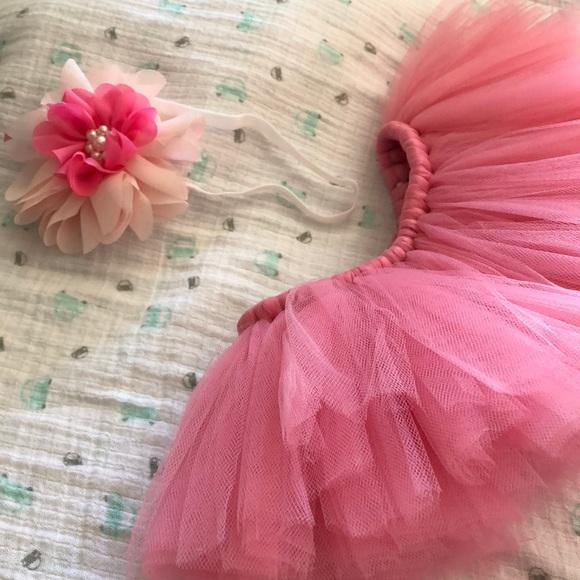 Baby girl tutu and flower headband & Costumes | Baby Girl Tutu And Flower Headband | Poshmark